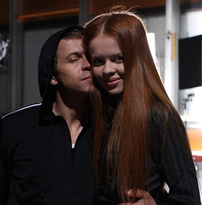 Павел Деревянко и Лена Князева