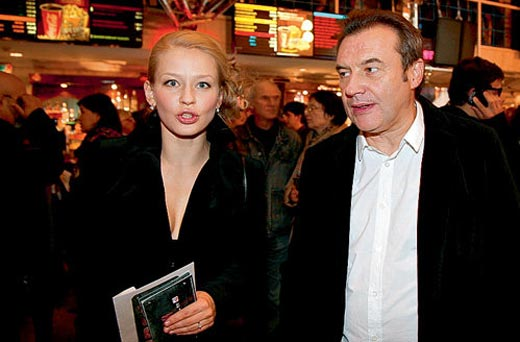 Юлия Пересильд и Алексей Учитель 1