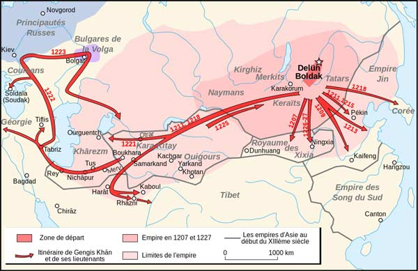 Походы Чингисхана