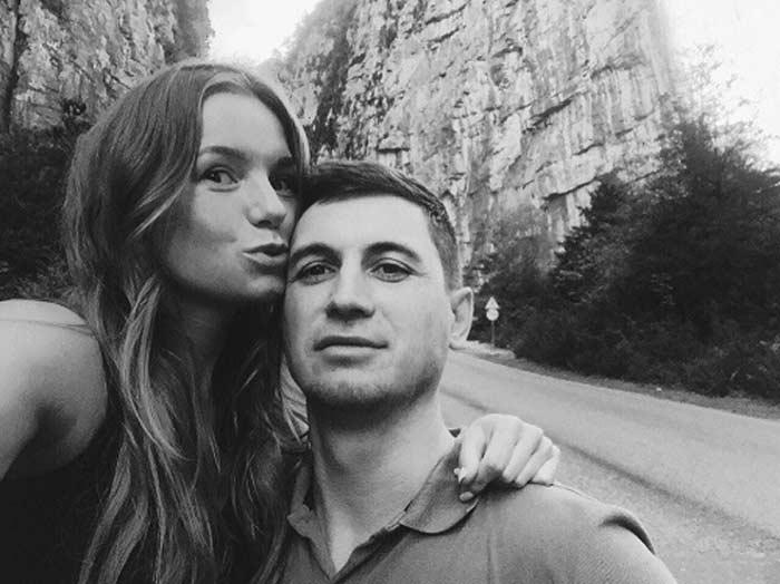 Полина Филоненко с гражданским мужем Андреем