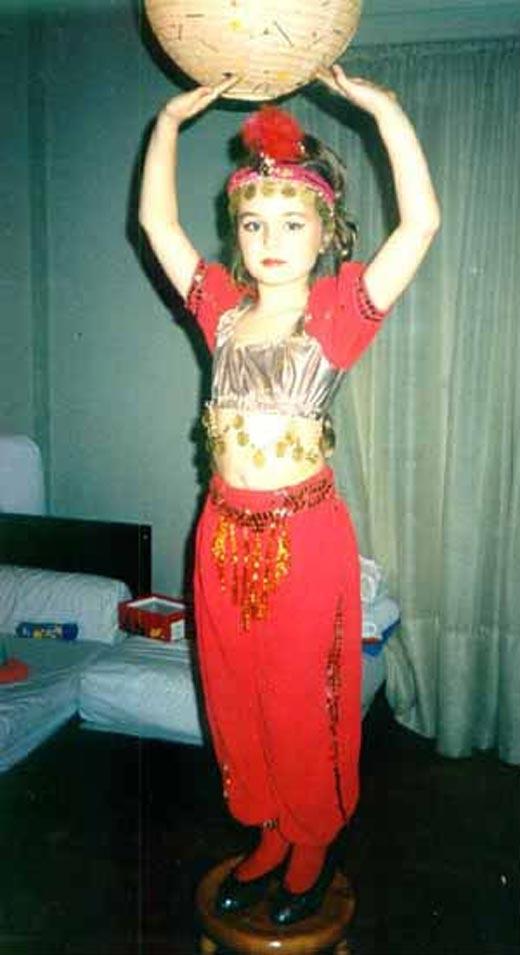 Полина Гагарина в детстве 1