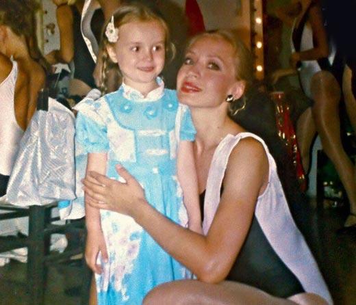 Полина Гагарина в детстве 3