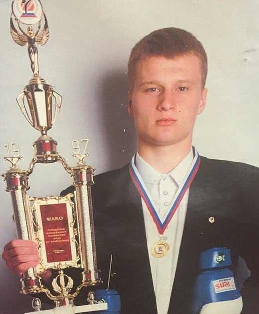 Александр Поветкин в юности