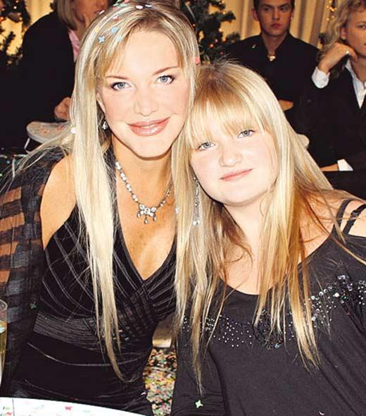 Елена Проклова и дочь Полина