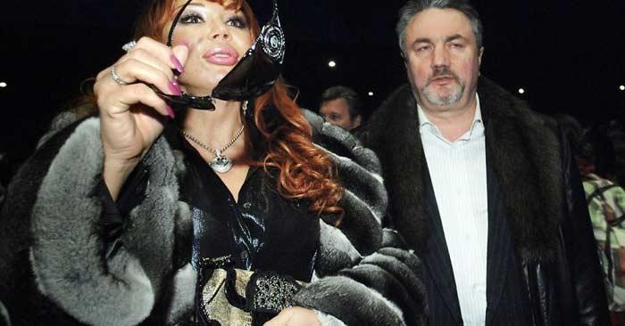 Маша Распутина и Виктор Захаров