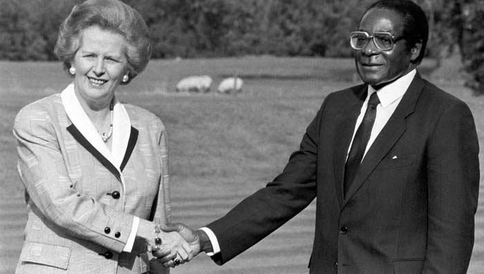 Роберт Мугабе и Маргарет Тэтчер