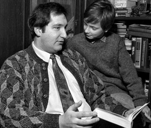 Дмитрий Рогозин с сыном
