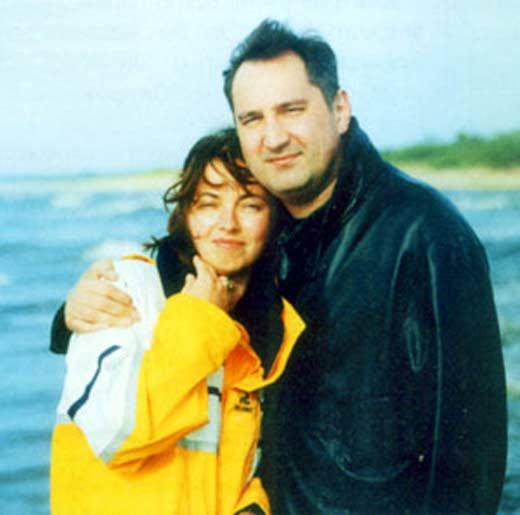 Дмитрий Рогозин с женой 1