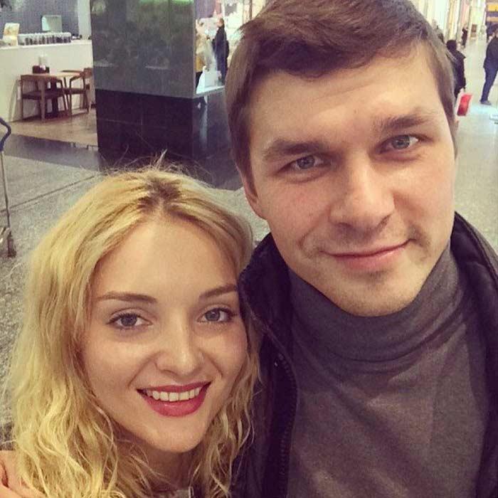 Алла Подчуфарова и Руслан Ягудин