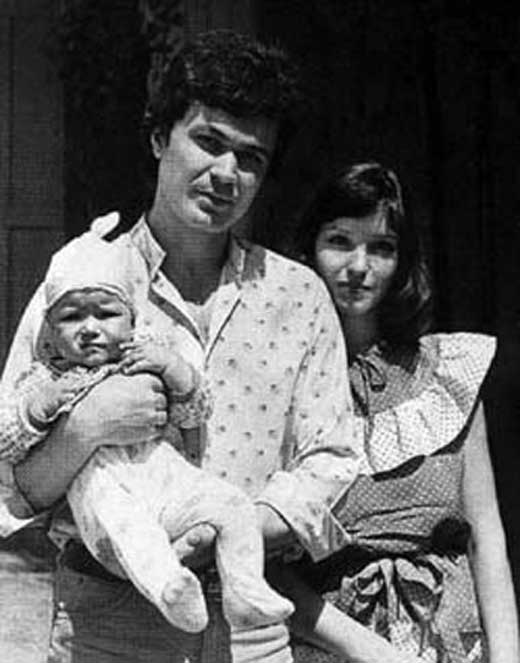 Анна Самохина с первым мужем Александром