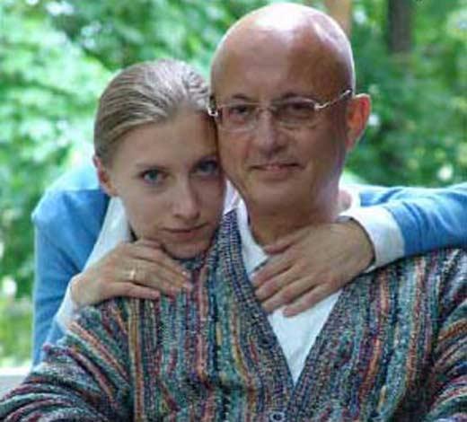 Сергей Караганов с женой
