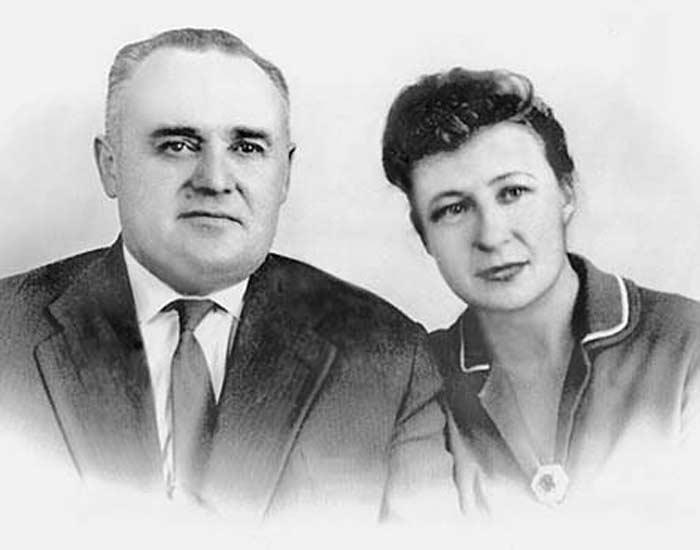 Сергей Королёв со второй женой Ниной Ивановной