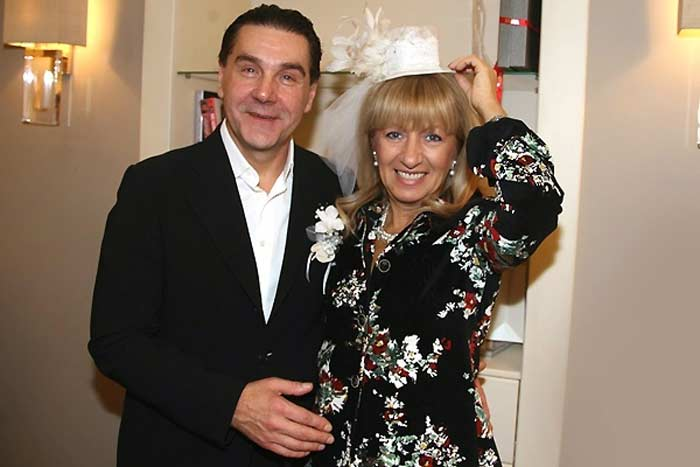 Сергей Маковецкий с женой Еленой 3