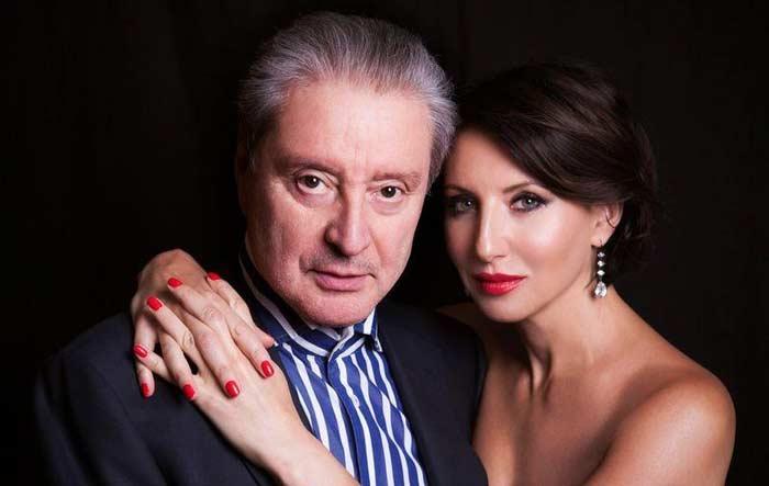 Алика Смехова с отцом
