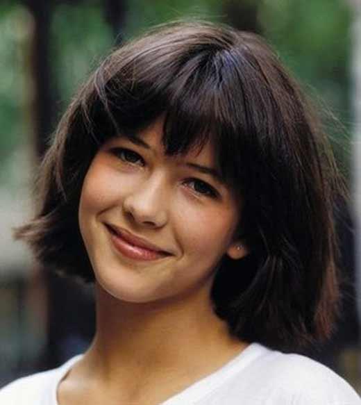 Софи Марсо в юности 1