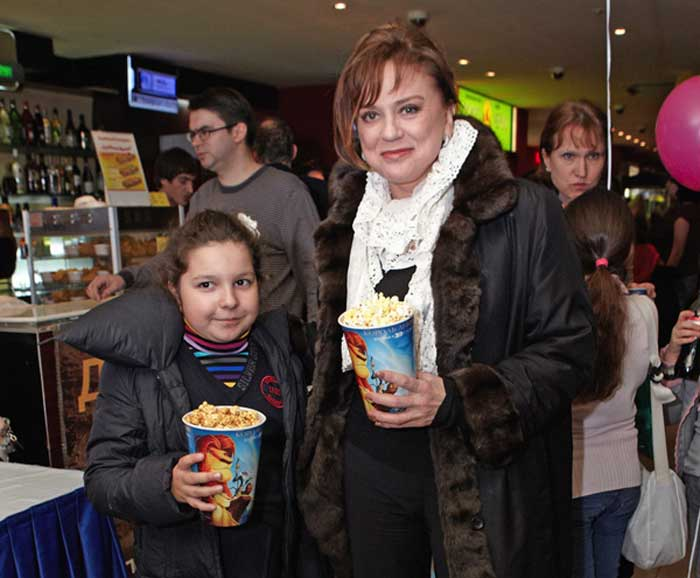 Светлана Сорокина и дочь Тоня