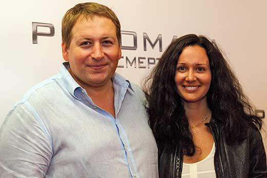 Станислав Дужников и Катерина Волга