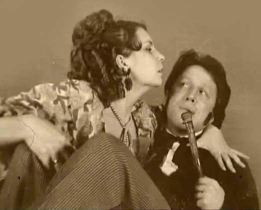 Стеклов и Людмила Мощенская