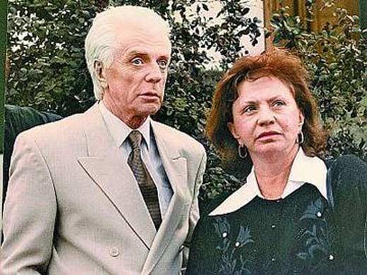 Олег Стриженов и Лионелла Пырьева