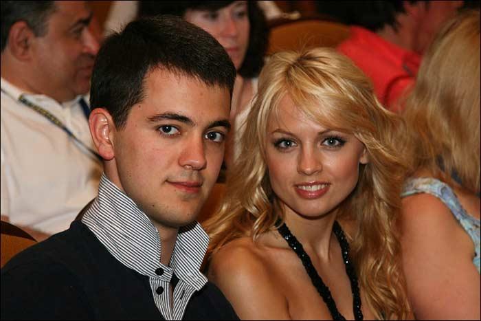 Янина Студилина и Александр Роднянский-младший