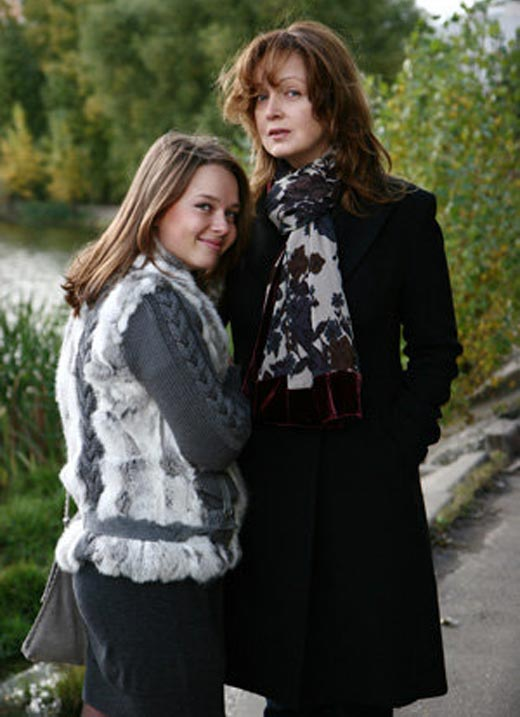 Светлана Аманова и дочь Екатерина