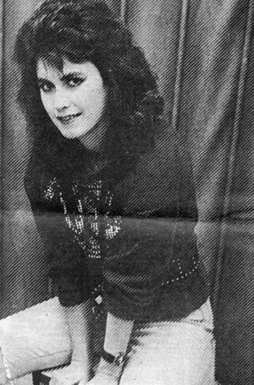 Светлана Разина в молодости