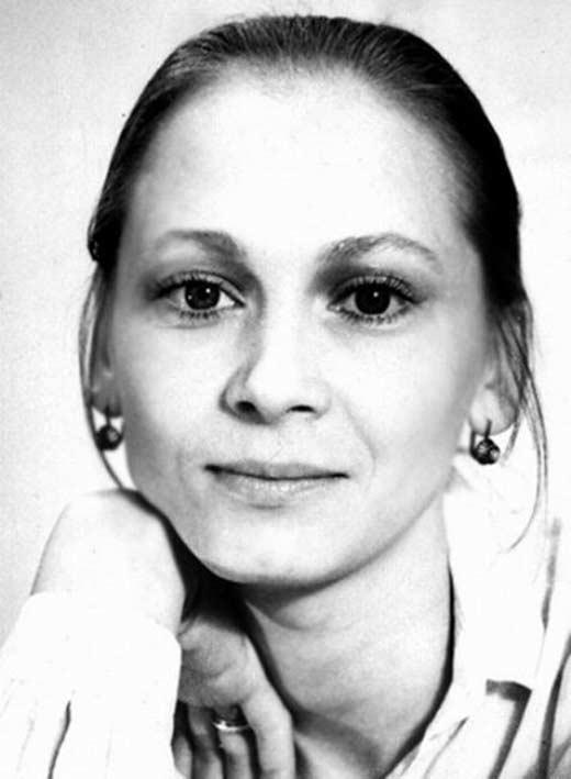 Светлана Смирнова в молодости