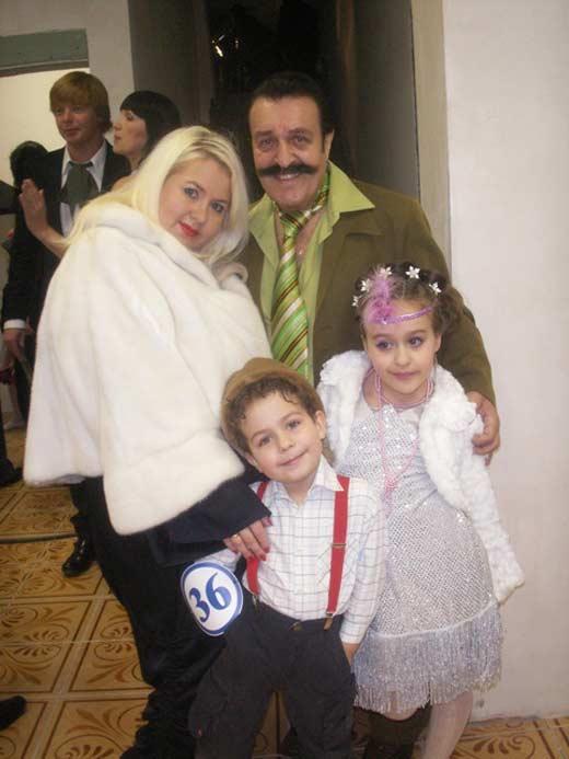 Вилли Токарев с женой Юлией 2