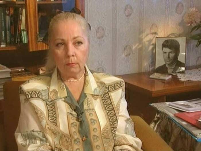 Валентина Сергеевна вдова Вадима Спиридонова