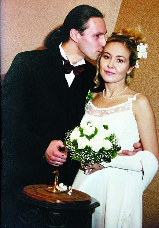 Василиса Володина и муж Сергей
