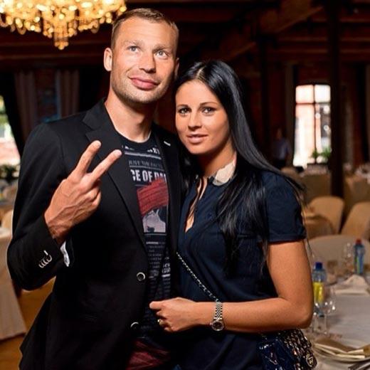 Василий Березуцкий с женой 2