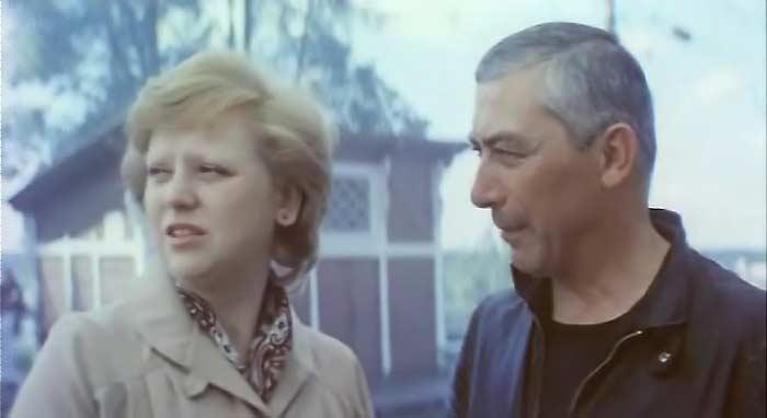Вахтанг Кикабидзе и Светлана Крючкова