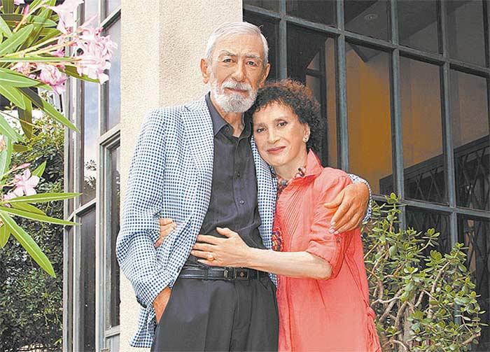 Вахтанг Кикабидзе и жена Ирина Кебадзе 2