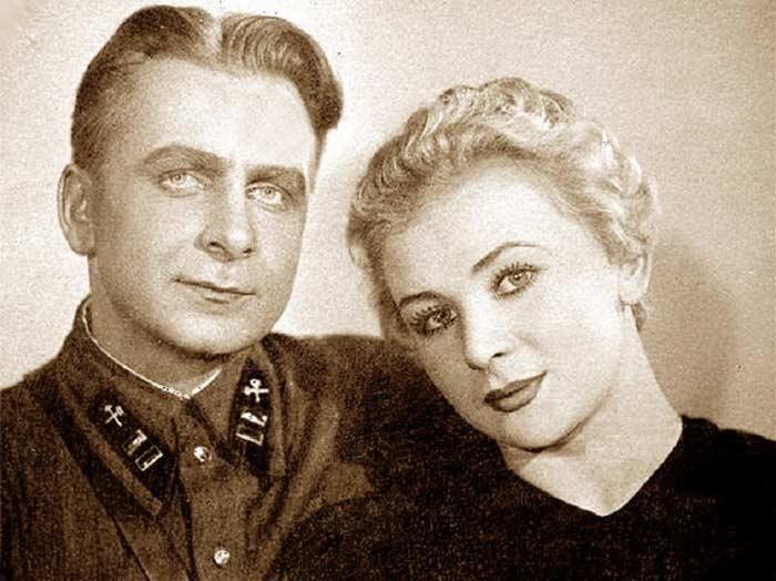 Валентина Серова и Анатолий Серов