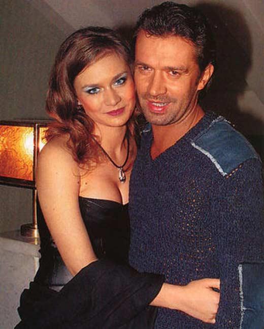 Владимир Машков и дочь Мария