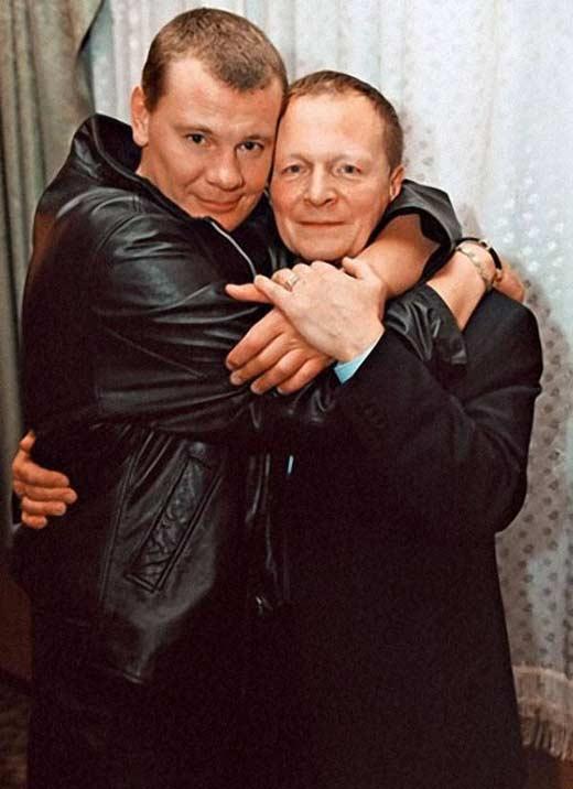 Владислав Галкин с отцом Борисом Галкиным