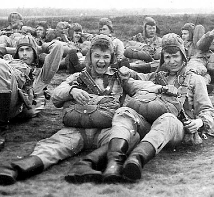 Ян Цапник в армии