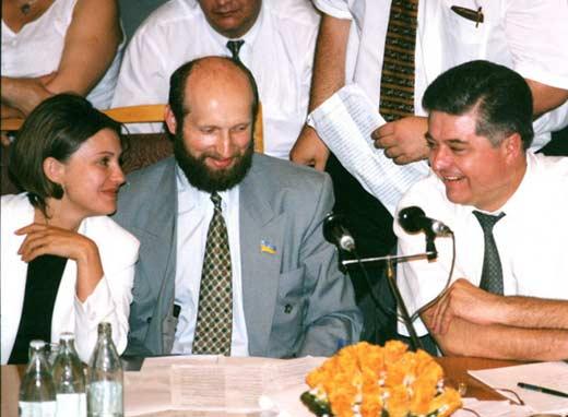 Юлия Тимошенко и Павел Лазаренко