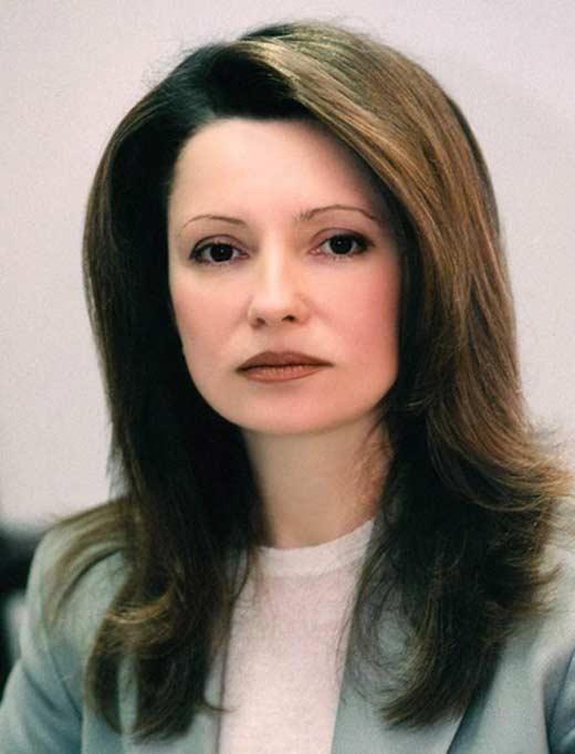Юлия Тимошенко в молодости 4