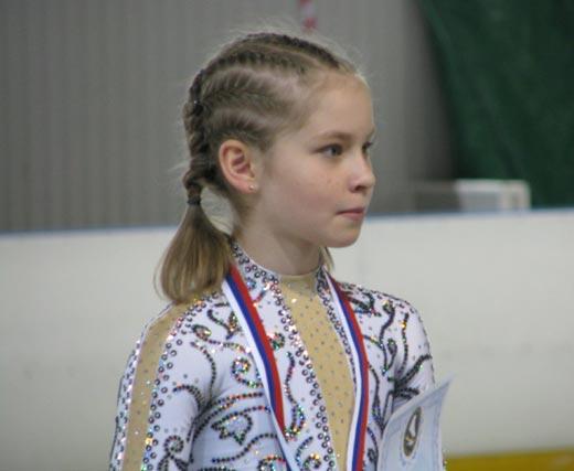 Юлия Липницкая в детстве 2
