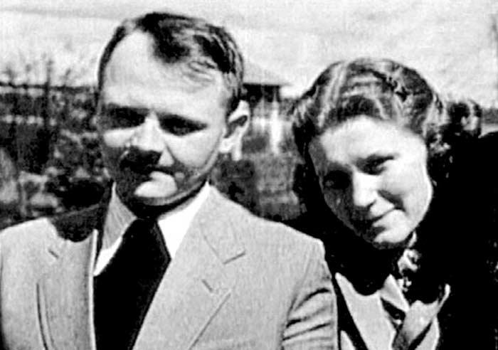 Юрий Жданов и Светлана Аллилуева