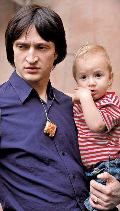 Юрий Чурсин с сыном
