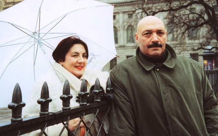 Юрий Цурило с женой