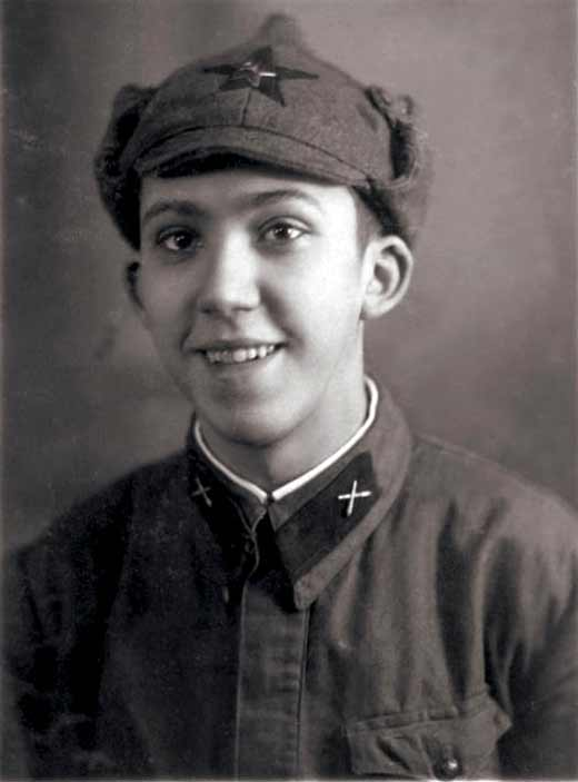 Юрий Никулин 1940 год