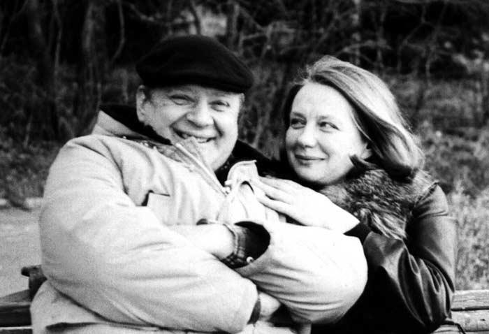 Юрий Визбор и Нина Тихонова