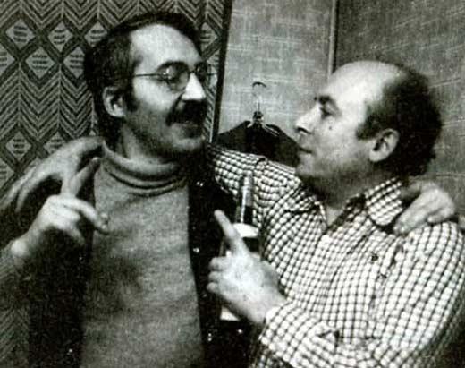 Юз Алешковский и Андрей Битов