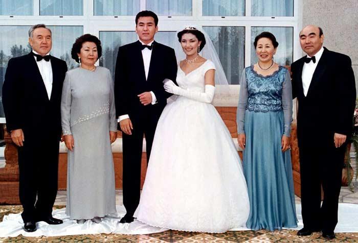 Свадьба Алии Назарбаевой и Айдара Акаева