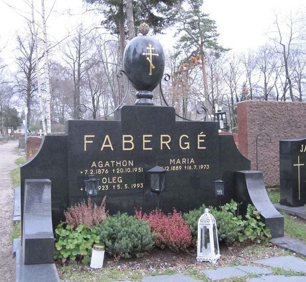 могила Агафона Фаберже