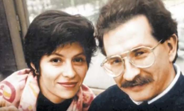Альбина Назимова и Владислав Листьев