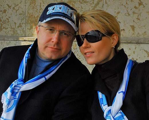 Алёна Горенко и муж Игорь